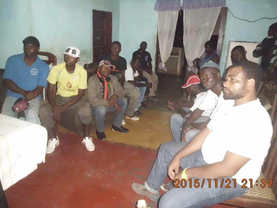 ngog-bassong - réunion de jeunes